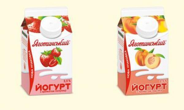 Йогурт 2,5% в Пюр-пак