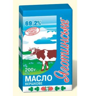 Масло Яготинское