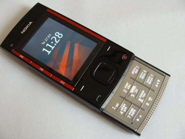 Мобильный телефон Nokia X3-00