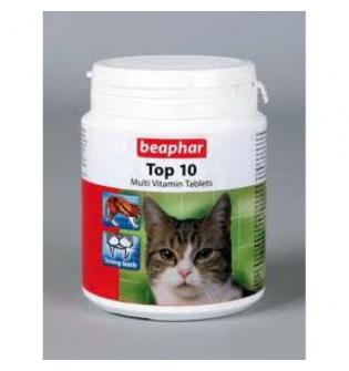 Витамины для кошек Beaphar Top 10 Multi Vitamin Tablets
