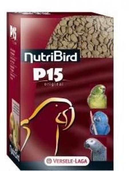 Versele-Laga NutriBird P15 корм с орехами для попугаев
