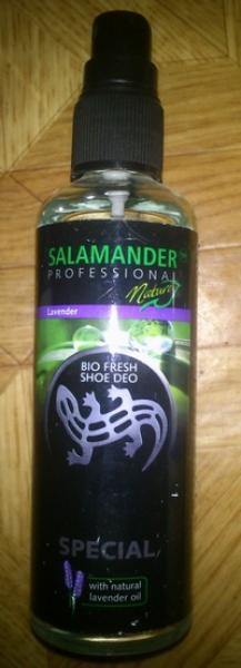 Спрей для обуви Salamander bio fresh shoe deo