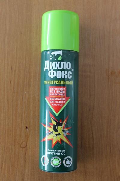Средство для борьбы с бытовыми насекомыми Дихло Фокс универсальный