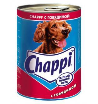 Консервы Chappi с говядиной