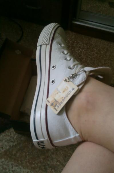 Кеды Converse All Star - Белые низкие