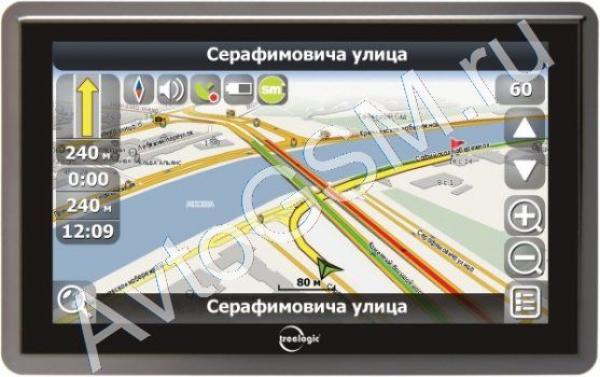GPS-навигатор Treelogic TL-5101 BGF