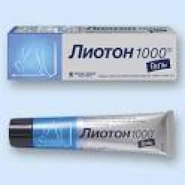 ЛИОТОН 1000 Гель BERLIN-CHEMIE