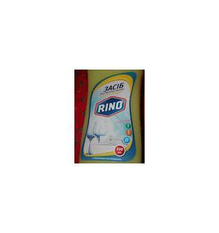 Моющее средство для мытья посуды RINO с ромашкой