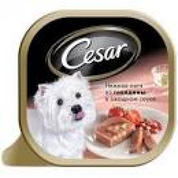 Корм для собак мелких пород Cesar