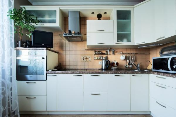 Наш кухонный гарнитур от  фабрики Кухен морген