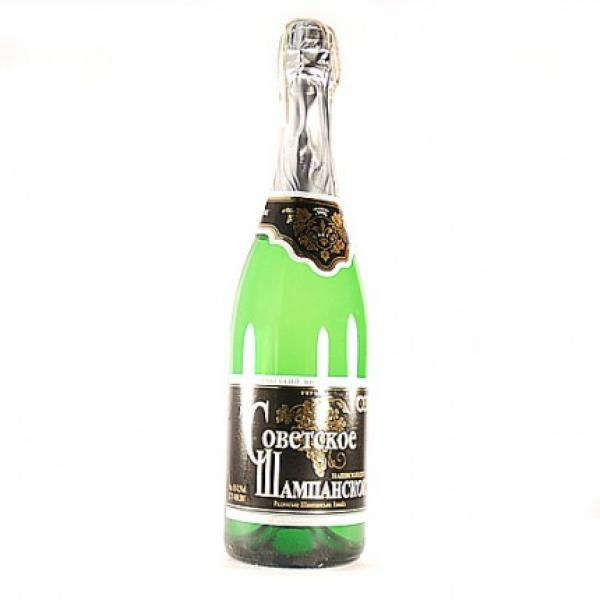 Шампанское Советское полусладкое Измаил